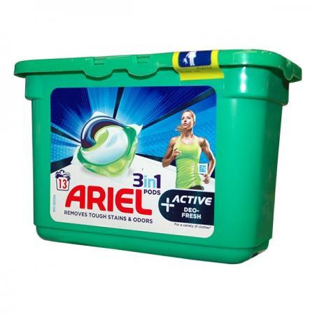 Ariel capsule active deo fresh 13 cap