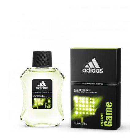 Apa de toaleta barbati adidas Pure Game 100ml
