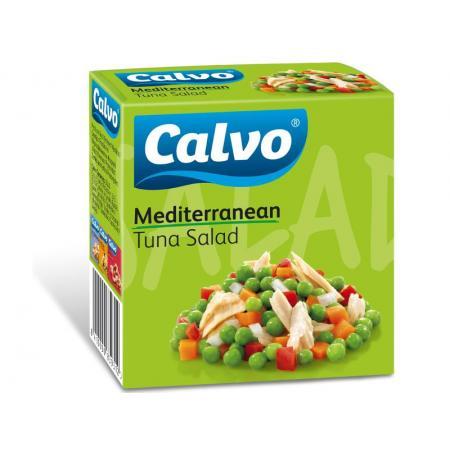 Calvo salata mediteraneana cu ton 150g