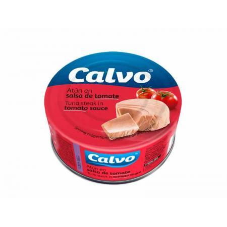 Calvo ton in sos de rosii 160g