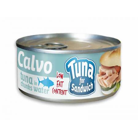 Calvo ton in sos natur pentru sandvis 142 g