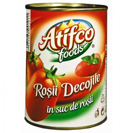 Atifco rosii decojite cutie 400 g