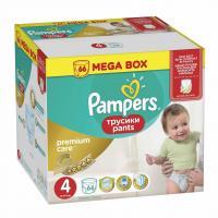 Scutece Pampers Premium Care Pants 4 Mega Box 66 buc
