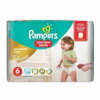Scutece Pampers Premium Care Pants 6 Value Pack 36 buc