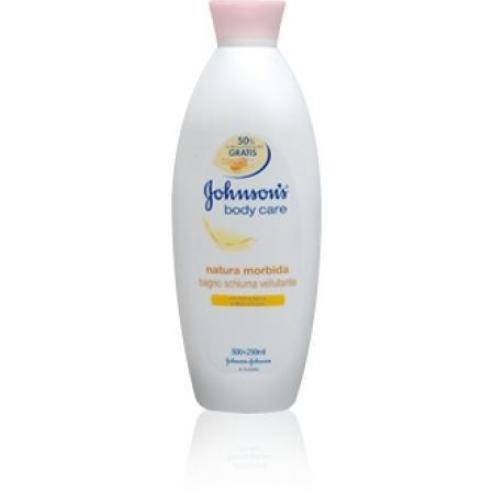 Johnson & Johnson - Bagnoschiuma al miele vellutante 500 ml + 250 ml