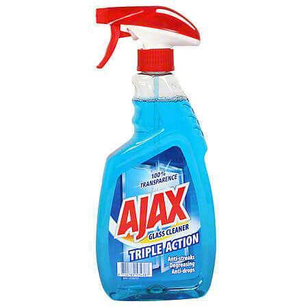 Detergent pentru geamuri AJAX Triple Action cu mecanism pulverizare 500 ml