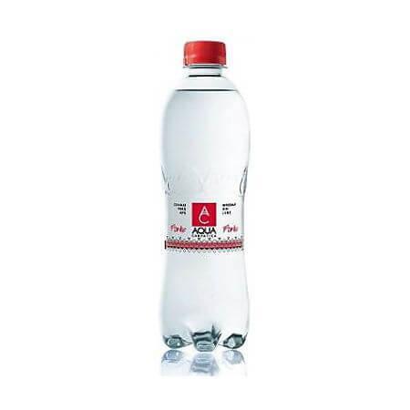 Apa minerala carbogazoasa forte 0.5L Aqua Carpatica