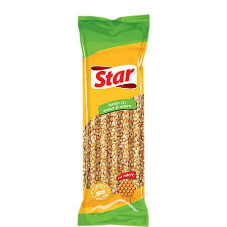 Baton cu seminte de susan si miere, 35g, Star