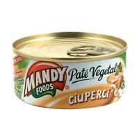 Pate vegetal 120g Mandy Ciuperci, 5 cutii