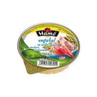 Pate vegetal cu ardei rosu 75g Hame