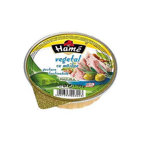 Pate vegetal cu masline 75g Hame