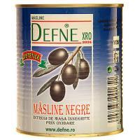 Masline negre dietetice, cutie, 400g, Defne