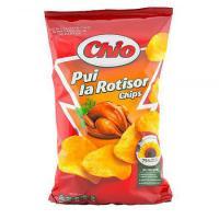 Chips cu aroma de pui la rotisor 65g Chio