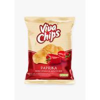 Chipsuri ardei, 100g Viva