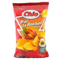 Chipsuri cu aroma de pui la rotisor 100g Chio Chips