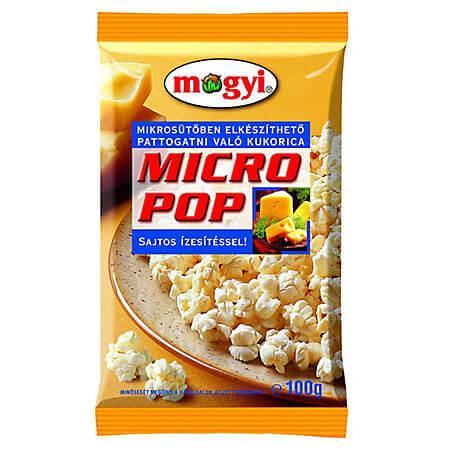 Popcorn pentru microunde cu cascaval, 100g Mogyi