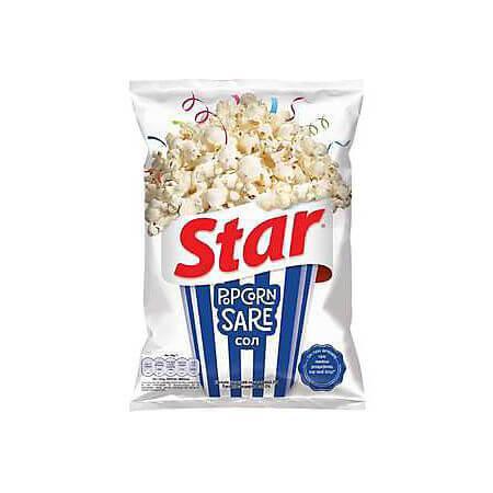 Popcorn sare 87g Star