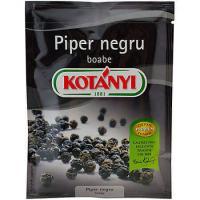 Piper negru boabe la plic 17g Kotanyi