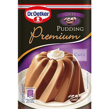 Praf de budinca cafea 37g Dr. Oetker Premium