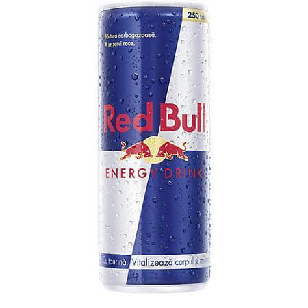 Bautura energizanta Red Bull 0.25L