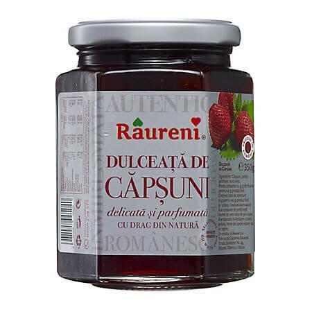 Dulceata de capsune 350g Raureni