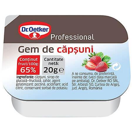 Gem capsuni 20g Dr. Oetker