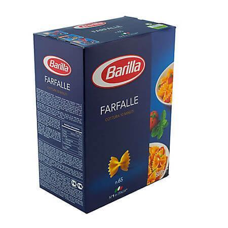 Paste fainoase Farfalle nr 65 500g Barilla