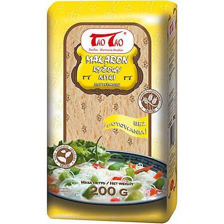 Paste orez vermicelli fara gluten, 200g, Tao Tao
