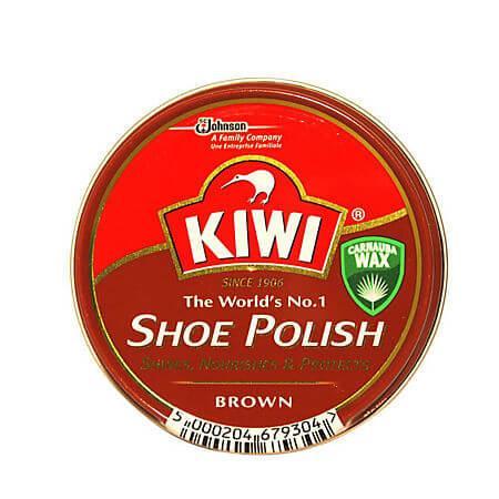 Crema pantofi, maro, 50 ml, Kiwi