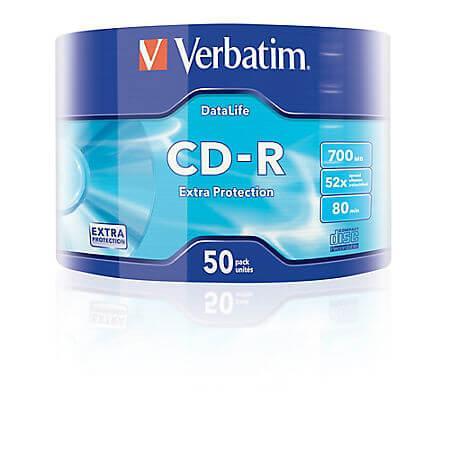 CD-R, 52x shrink, 50 buc, Verbatim