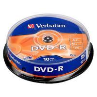 Dvd-R Verbatim, 4.7gb, 16x, 10 buc/set