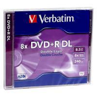Dvd+R Verbatim, 8x, 8.5gb