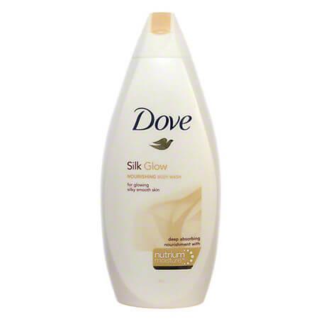Gel de dus Dove Silk Glow, 500 ml