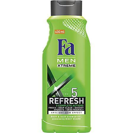 Gel de dus Men Xtreme Re-fresh, 400ml, FA