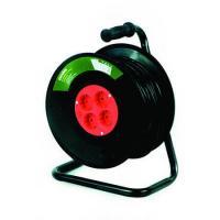 Prelungitor tambur suport metalic 25m, cablu 3x1mm, Strohm
