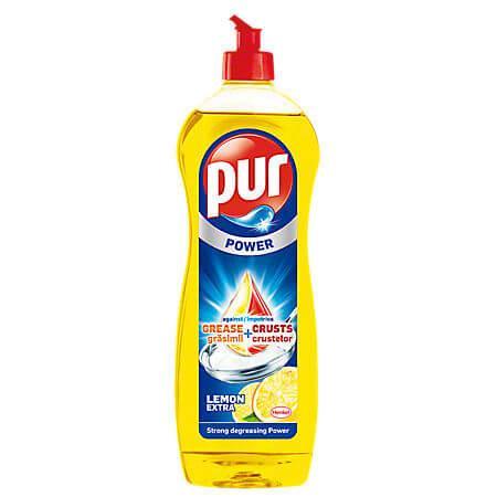 Detergent lichid Pur Lemon pentru vase 900 ml