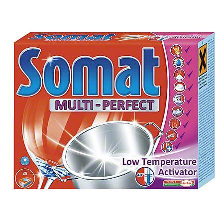 Detergent masina vase 28 tablete Somat All In One