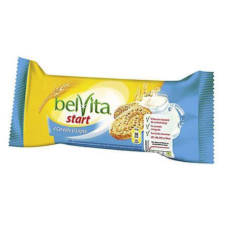 Biscuiti belVita Cereale si Lapte 50gr