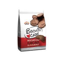 Biscuiti cu ciocolata Biscuitii Casei 200g Alka