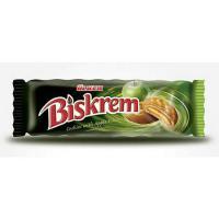 Biscuiti cu umplutura de mere 80g Biskrem