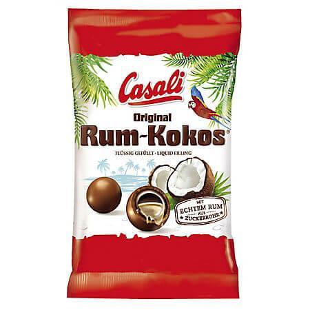 Bomboane cu rom, cocos si cacao 100g Kokos Rum