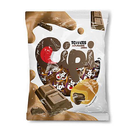 Caramele umplute cu ciocolata 1kg Cipi