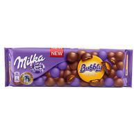 Ciocolata caramel Bubbly 250g Milka