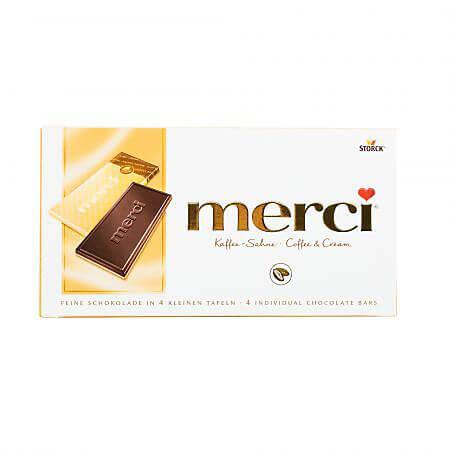 Ciocolata cu cafea si frisca 100g Merci
