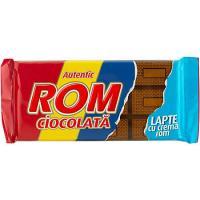 Ciocolata cu lapte si crema de rom 88g Rom