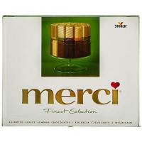 Praline de ciocolata asortata Verde 250g Merci