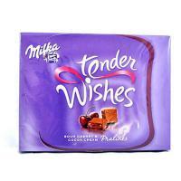 Praline din ciocolata si visine 110g Milka Tender Wishes