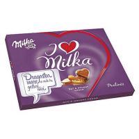 Praline I Love Milka alune, 110gr