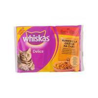 Hrana umeda pentru pisici Delice grill plic 4x85g Whiskas