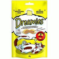 Recompense pentru pisici, Branza, 60g, Dreamies